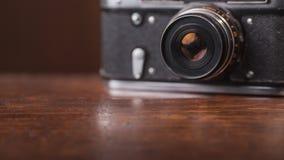 Retro kamera royaltyfri foto