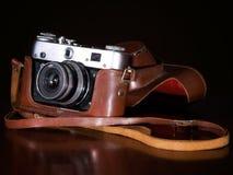 Retro- Kamera Lizenzfreie Stockfotos