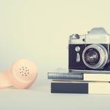 Retro- Kamera Stockfoto