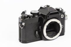 Retro kamera. Arkivfoto