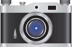 Retro kamera royalty ilustracja