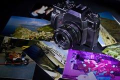 Retro kamera Zdjęcia Royalty Free