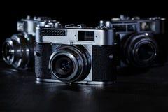 Retro kamera Royaltyfria Bilder