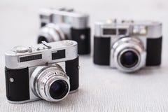 Retro kamera Arkivfoto