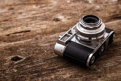 Retro kamera Royaltyfri Bild