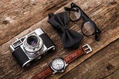 Retro kamera Fotografia Stock