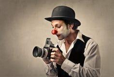 Retro Kamera lizenzfreies stockbild