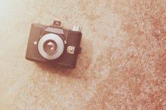 Retro- Kamera der Weinlese Lizenzfreies Stockbild