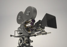 Retro- Kamera des Kinos 3d vektor abbildung