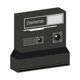 Retro- Kamera lokalisiertes Ikonendesign Lizenzfreies Stockfoto
