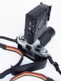Retro- Kamera mit Blinken Lizenzfreie Stockfotos