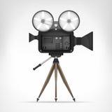 Retro kamera przedmiota 3D projekt ilustracji