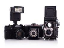 retro kameror Royaltyfria Foton
