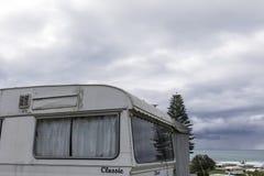 Retro karawana W NZ zdjęcia stock