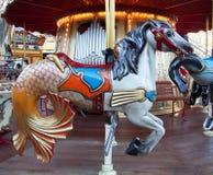 Retro karusell Royaltyfri Fotografi
