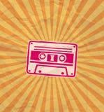 Retro kasety ulotka 02 Zdjęcie Royalty Free