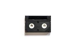 Retro kasety Wideo taśma isoalted na bielu Zdjęcie Royalty Free