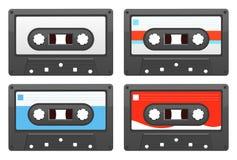 retro kassett Arkivfoto