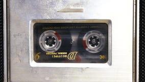 Retro- Kassette stock footage