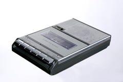 retro kassettregistreringsapparat Fotografering för Bildbyråer