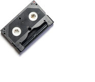 Retro kassettvideoband Arkivbild