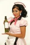 retro kelnerka zdjęcia stock