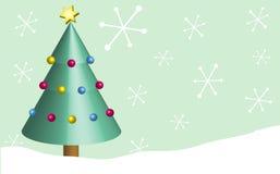 Retro Kerstmis Stock Fotografie