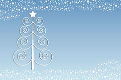 Retro Kerstmis stock illustratie