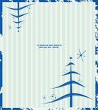 Retro Kerstmisachtergrond vector illustratie
