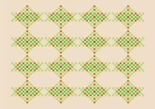 Retro Kerstmispatroon vector illustratie
