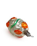 Retro Kerstmisstuk speelgoed Royalty-vrije Stock Fotografie