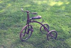 Retro kid's bike Royalty Free Stock Photography