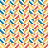 Retro kid vector seamless pattern. Endless texture Stock Photo