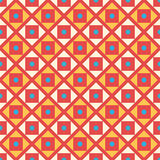 Retro kid vector seamless pattern. Endless texture Royalty Free Stock Photography