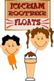 Retro kids Royalty Free Stock Images