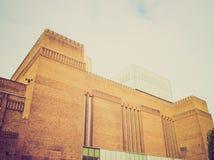 Retro kijk Tate Gallery Royalty-vrije Stock Foto's