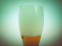 Retro kijk Weizen bier Stock Foto's