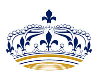 Retro king crown. In Royalty Free Stock Photos