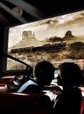Retro- Kino der geöffneten Luft Lizenzfreies Stockfoto