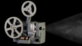 Retro- Kinoprojektor stock video