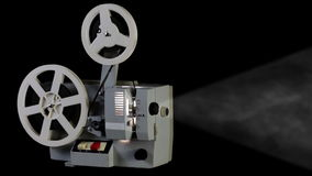 Retro kinowy projektor ilustracji