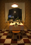 Retro Kitchen. With old classic interior style stock images