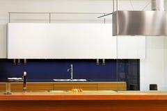 Retro kitchen counter Royalty Free Stock Image