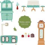 Retro kitchen Stock Image