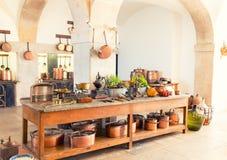 Retro kitchen Royalty Free Stock Photos