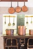 Retro kitchen Stock Photography
