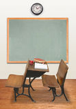 Retro Klaslokaal Stock Afbeeldingen