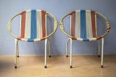 Retro klassieke stoel stock fotografie