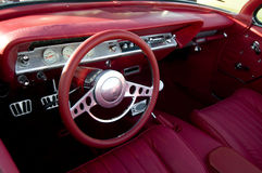 Retro- klassisches amerikanisches Auto Lizenzfreie Stockfotografie