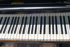 Retro- Klavier der Weinlese Stockfoto
